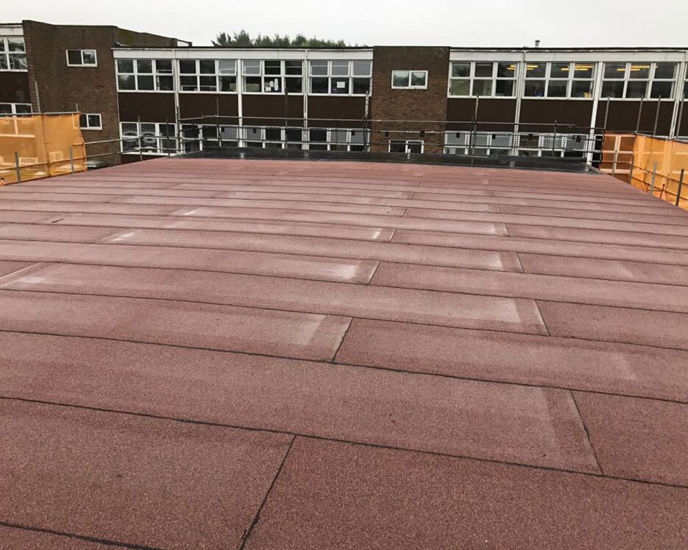 The gymnasium of Hove Park lower school has been completed